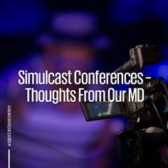 Simulcast Conferences have changed how eventing is done and we have front row seats to watch it come alive! Our MD Jessica MacRoberts shares her thoughts on this tech in our blog.