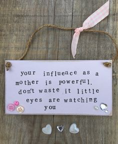 £6.00 ~ wooden plaque ~ pink ~ quote ~ hanging ~ handmade ~ personalised. visit us on facebook and etsy