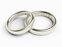 51 Wedding Ring Engraving Ideas Band Engraved Rings Engagement