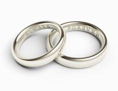 51 Wedding Ring Engraving Ideas
