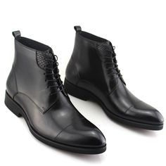 105.00$  Watch here - http://ali9z0.worldwells.pw/go.php?t=32322938241 - 2017 New Fashion Men's Formal Dress Martin Boots Leather Brogue Wedding Office Ankle Lace-Up Male Footwear Botas Hombre Boots 105.00$