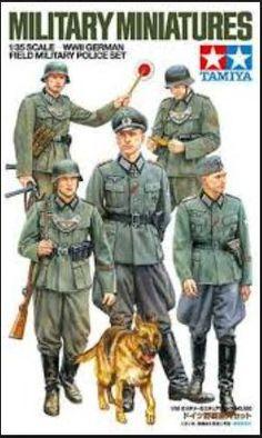 Military German Police.
