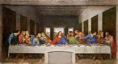 "Leonardo da Vinci, ""The Last Supper,"" Santa Maria delle Grazie, Milan, Falling Asleep At Work, How To Fall Asleep, Full Moon In Sagittarius, Holy Thursday, Maundy Thursday, Easter Story, Biblical Art, Renaissance Paintings, Last Supper"