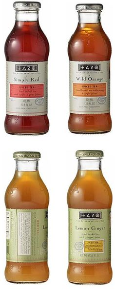 Tea Beverages - Tazo Packaging