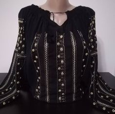 Shop Women's blouse with traditional embroidery BR from REAL's shop in Blouses, available on Tictail from Blouses For Women, Traditional, Embroidery, Long Sleeve, Sleeves, Shopping, Tops, Fashion, Moda