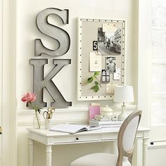 Get beautifully organized with this noteworthy message board from Susanne Kasler.