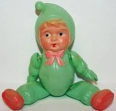 vintage celluloid dolls - Google Search