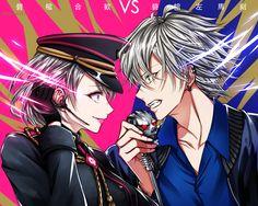 Romantic Love Couple, Anime Rapper, Anime Music Videos, Death Parade, Angel Beats, A Silent Voice, Anime Costumes, Rap Battle, Anime Artwork
