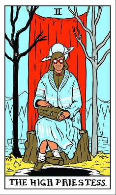 Rue Morgue | Fire walk through your subconscious mind with the TWIN PEAKS TAROT
