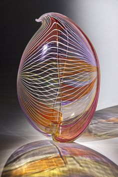 Spring Seed by Nancy Callan Blown Glass Sculpture