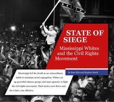 Mississippi: A Place Apart  During the era of Jim Crow segregation, Mississippi represented the extremes of the South. This NPR Radioworks audio program touches on the murky race history of the Magnolia State that led to the Meredith riots, its aftermath in US history. Very informative and detailed.