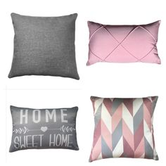 Sims 4 Bedroom, Mix, Interiores Design, Decoration, My Room, Sweet Home, Throw Pillows, House, Pink Gray Bedroom