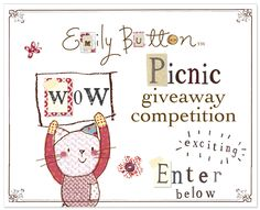 EmilyButtonPicnicWeekCompetitionBanner Little Ones, Competition, Animation, Entertaining, Activities, Button, Comics, Illustrations, Fictional Characters