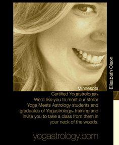 MINNESOTA USA :: Certified Yogastrologer®  Elisabeth Olson