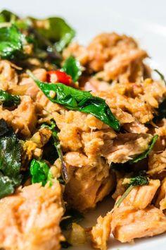 ستير ال #تونا بالريحان #tuna #food #recipes