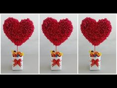 Lembrancinha dia dos namorados - Ромашки из Бумаги Своими Руками/ Chamomile of crepe paper Tutorial / DIY - Valentines Day Gifts For Her, Valentines Day Decorations, Valentine Day Crafts, Decoration St Valentin, Saint Valentin Diy, Valentines Bricolage, Diy And Crafts, Crafts For Kids, Boyfriend Crafts