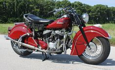 indian chief motorcycle 1947 | Pristine 1947 Indian Chief. Restored whilst in Florida USA 2010 and ...