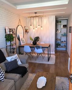The Best 2019 Interior Design Trends - Interior Design Ideas Home Room Design, Home Interior Design, Interior Architecture, Home Living Room, Living Room Decor, Dining Room, Appartement Design, Home Decor Furniture, House Rooms