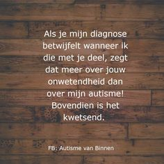 Dutch Quotes, Adhd, Twitter, Asperger