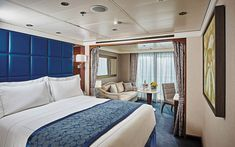 Regent Seven Seas Cruises - Top 5 Midsize-Ship Ocean Cruise Lines Crucero Royal Caribbean, All Inclusive Cruises, Satellite Phone, Ocean Cruise, Bar Set Up, Blue Space, Cruise Vacation, Travel And Leisure, Art Deco