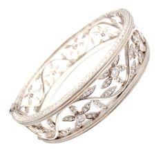 CATHY WATERMAN 3CT Diamond Platinum Bracelet
