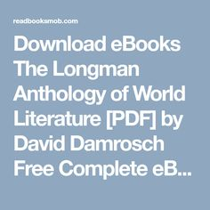 Pdf books file the heart of yoga pdf epub by t k v desikachar download ebooks the longman anthology of world literature pdf by david damrosch free complete fandeluxe Gallery