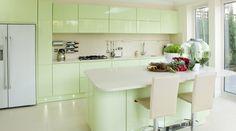 15 Soft Pastel Colored Kitchen Design Ideas | Rilane - We Aspire ...