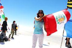 Experiencia increíble en el Salar de Uyuni, Bolivia ♥ SUDAMÉRICA ♥ Amo mi bandera #viajera