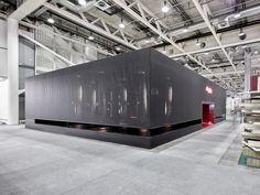 Argolite exhibition stand at Swissbau 2016 fair by Dobas AG, Lucerne – Switzerland » Retail Design Blog