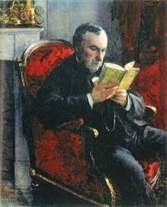 Portrait of Eugène Daufresne by Gustave Caillebotte (France, 1848 - 1894)