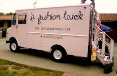A boutique store inside a truck...what could be cooler than that?