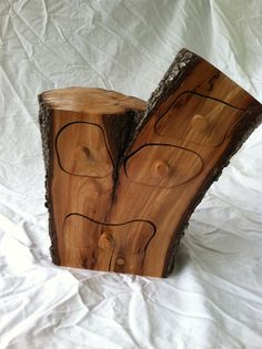Bandsaw Box Log Jewelry Or Trinket Box Reduced Price