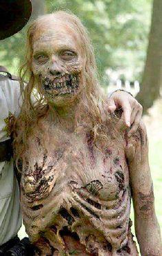 AMC`s The Walking Dead Season 1 Bicycle Girl Melissa Cowan