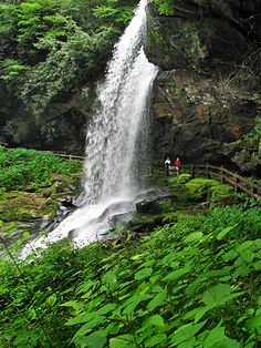 Dry falls, Cashiers, NC. You can walk right under the waterfall!