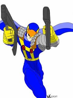 hanna barbera's blue falcon/nathan summers*cable
