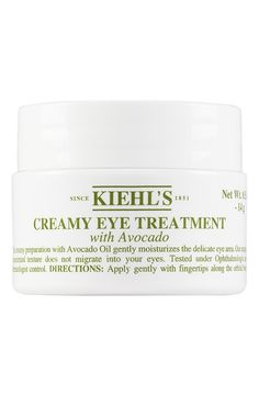 This creamy yet uniquely concentrated avocado oil formula provides the perfect amount of gentle moisture for the delicate eye area. Simply apply gently with fingertips along the orbital bone without pulling the skin.