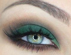 Come truccare gli Occhi verdi FOTO
