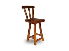 Log Bar Stool with Back. Handmade in northern Ontario, our Walter Page log bar stools are available in peeled log and bark log style. Log Bar Stools, Bar Stools With Backs, Ontario, Handmade, Furniture, Home Decor, Style, Homemade Home Decor, Hand Made