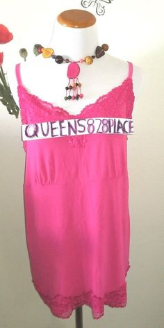 6d601a8c7da LANE BRYANT Womens Plus Size 14/16 Pink Stretch Lace Cami Tank Top blouse  shirt