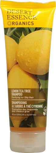 Desert Essence Organics Shampoo Lemon Tea Tree -- 8 fl oz - Vitacost  $5