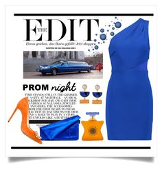 """""""Prom Night"""" by conch-lady ❤ liked on Polyvore featuring Halston Heritage, Bond No. 9, Diane Von Furstenberg, Casadei and PROMNIGHT"""