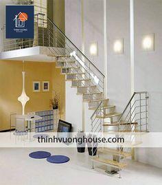 Không gian sống đẳng cấp với cầu thang inox đẹp
