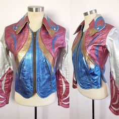 RARE Vintage East West Musical Instruments Parrot Jacket /