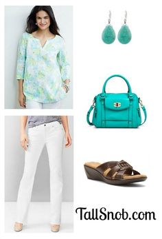 Printed Tall Linen Shirt and Outfit - Tall Snob