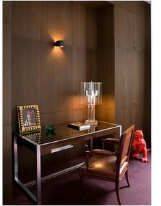 Gorgeous & Clean.Interior design and photo courtesy of Pierre Yovanovitch...