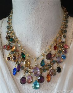 Love this colorful, sparkly necklace