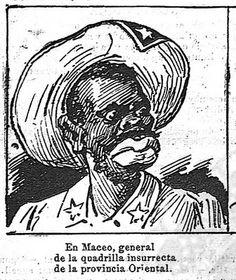 Antonio Maceo visto por la prensa española