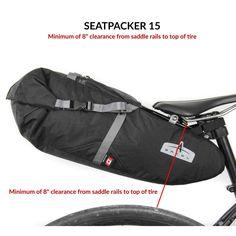 Seatpacker 15 - Bikepacking Seat Bag | By Arkel