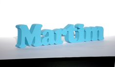 Nome Martim em MDF http://decoclock.net/portfolio/nomes-mdf/