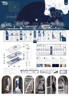 Arcade Architecture, Concept Board Architecture, Collage Architecture, Architecture Presentation Board, Architecture Graphics, Architecture Portfolio, Architecture Design, Architecture People, Portfolio D'architecture